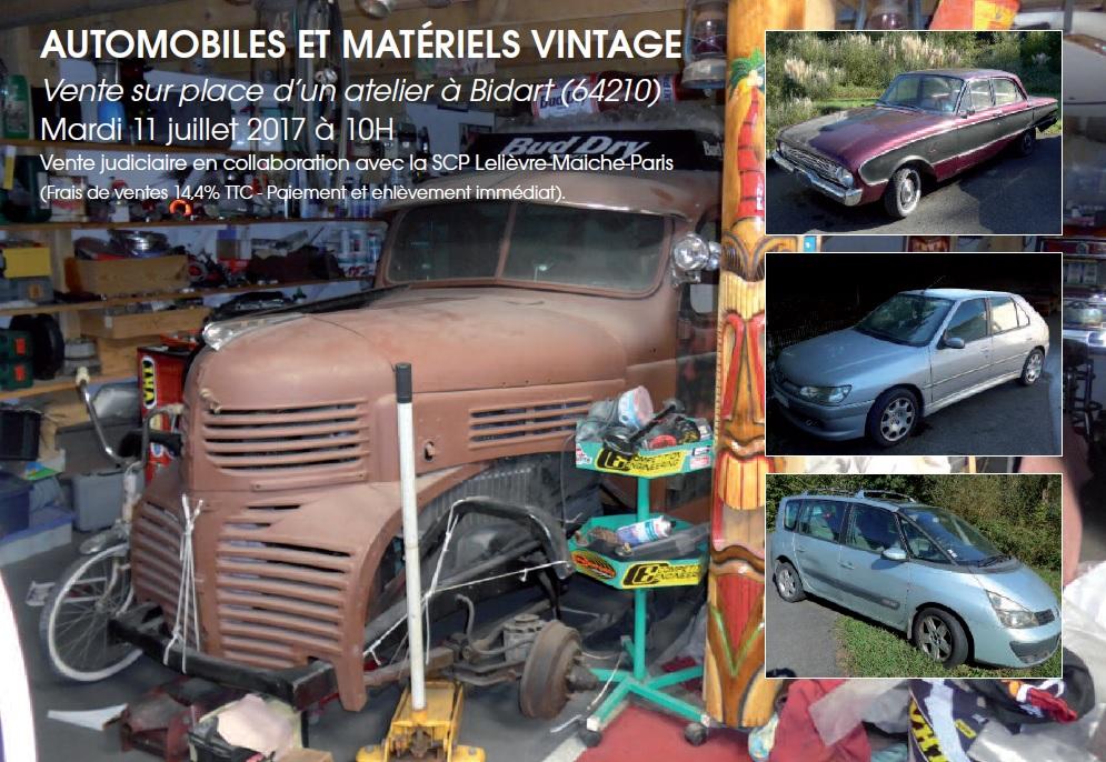vehicules materiel de garage vintage vente tutelle t p. Black Bedroom Furniture Sets. Home Design Ideas