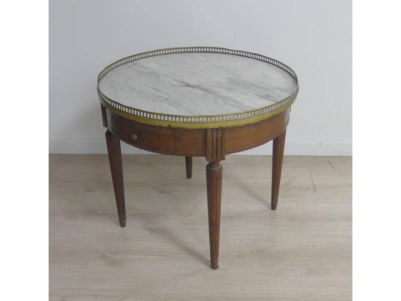 Table bouillotte en noyer - Cote table vente en ligne ...